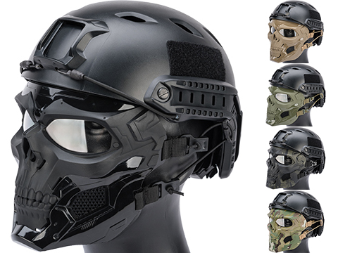 Matrix Skull Messenger Face Mask