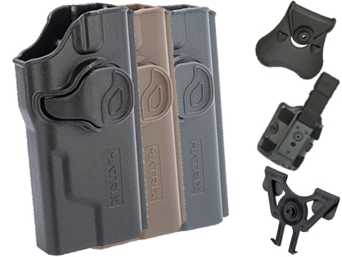 EMG Helios Matrix Hardshell Adjustable Holster for Hudson H9 Series Pistols