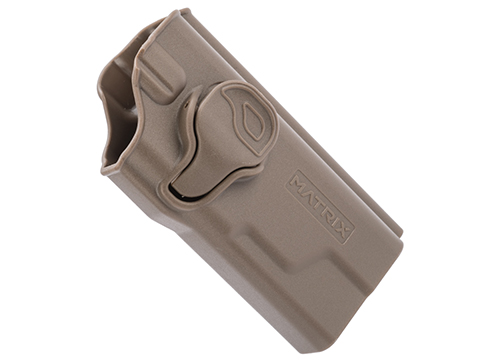 EMG Helios Matrix Hardshell Adjustable Holster for Hudson H9 Series Pistols (Type: Flat Dark Earth / No Attachment)