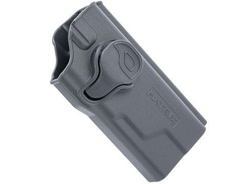 EMG Helios Matrix Hardshell Adjustable Holster for Hudson H9 Series Pistols (Type: Grey / No Attachment)
