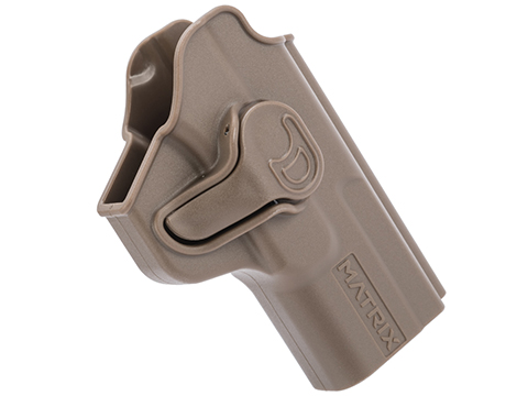 EMG Helios Matrix Hardshell Adjustable Holster for SAI BLU Series Pistols (Type: Flat Dark Earth / No Attachment)