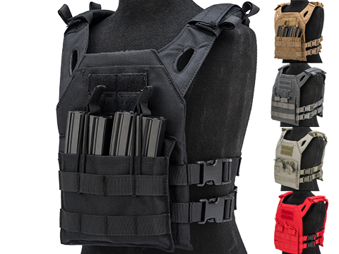Matrix Level-1 Child Size Plate Carrier (Color: Black)