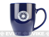 Guns & Coffee® 16oz High Quality Ceramic Mug - Blue