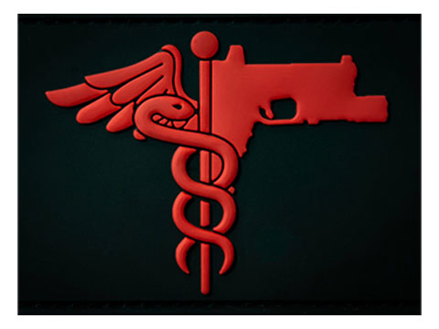 MUSA Trauma Medical Shooter PVC Morale Patch