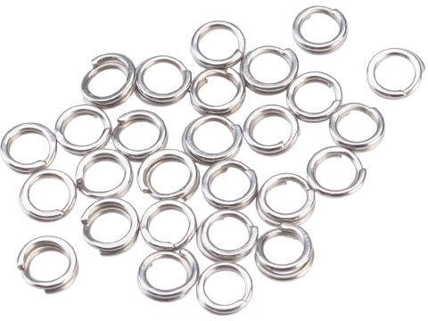 Mustad Saltwater Game Special Saltism Forged SS Split Rings