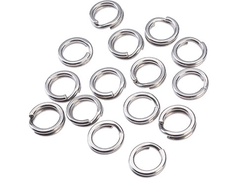 Mustad Saltwater Game Special Saltism Forged SS Split Rings (Size: 9 / 15pcs)