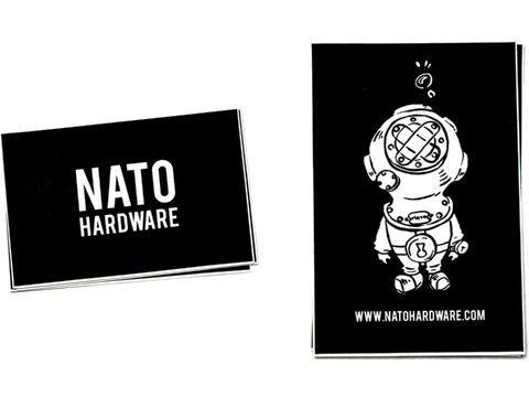 NATO Hardware Die-Cut Vinyl Sticker set