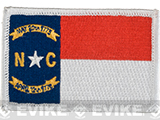 Evike.com Tactical Embroidered U.S. State Flag Patch (State: North Carolina The Tar Heel State)