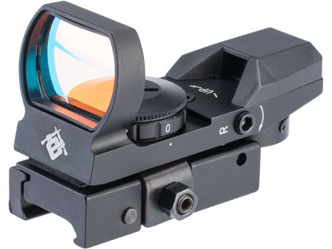 Evike.com VISM LED 4 Reticle Red Dot Reflex Sight w/ QR Mount