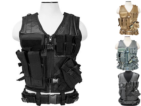 NcStar VISM Tactical Vest (Color: Black / Large)