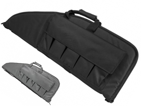 NcSTAR Tactical Deluxe 38 Padded Rifle Bag w/ Built-in Pouches