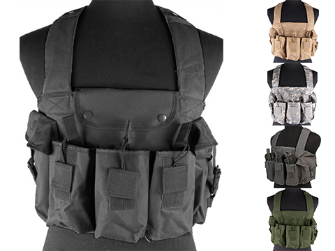 NcStar Tactical 6 Pouch AK Chest Rig