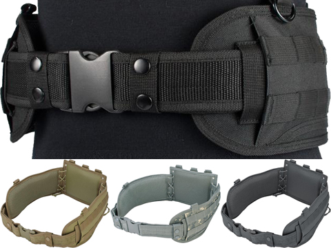 NcSTAR Battle Belt w/ Integrated Pistol Belt Set (Color: Black)