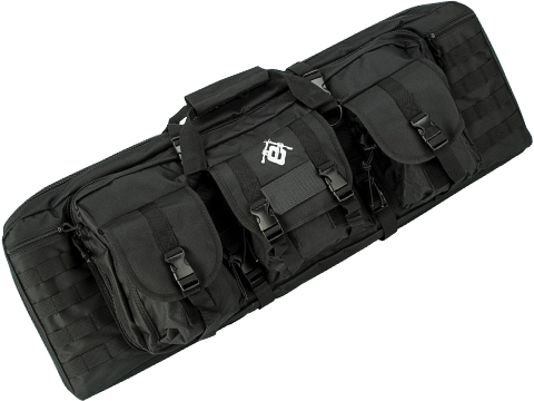 Evike.com Combat Featured 36 Ultimate Dual Weapon Case Rifle Bag (Color: Black)