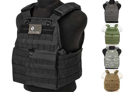 VISM / NcStar Tactical Plate Carrier (Color: Black)