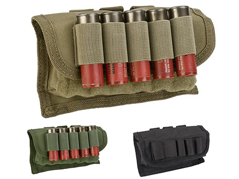 NcSTAR 17rd Tactical Shotgun Shell Pouch (Color: Tan)