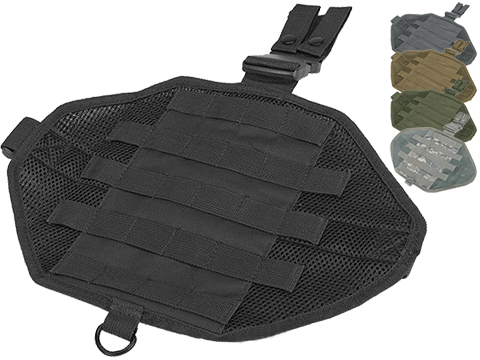 NcStar MOLLE Drop Leg Panel (Color: Black)