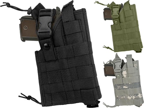 NcStar MOLLE Tactical Pistol Holster (Color: Black)