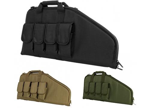 VISM 28 Sub Machinegun / Pistol Carbine Length Nylon Gun Bag (Color: Black)