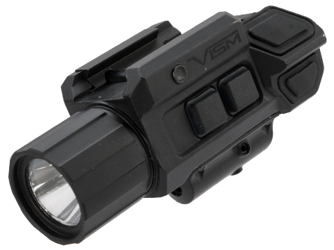 VISM by Ncstar GEN3 Pistol Flashlight w/Strobe & Green Laser