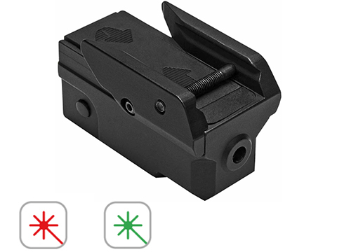 NcStar Pistol Laser with Keymod Accessory Mount (Color: Red Laser)