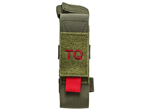 NcStar/VISM Tourniquet & Tactical Shear Pouch (Color: OD Green)