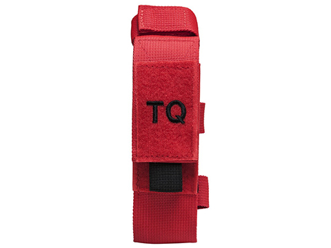 NcStar/VISM Tourniquet & Tactical Shear Pouch (Color: Red)