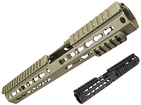 VISM by NcSTAR 13 Extended Keymod Carbine Length Hand Guard for AR15 Rifles