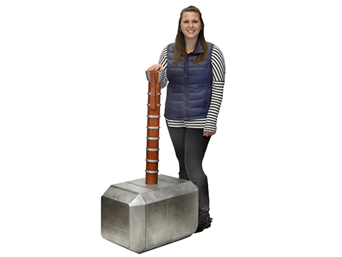 Marvel Thor's Hammer Oversized Foam Prop Replica