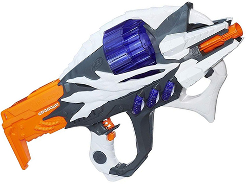 Nerf Alien Menace Incisor Foam Dart Blaster