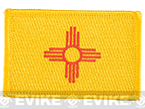 Evike.com Tactical Embroidered U.S. State Flag Patch (State: New Mexico The Land of Enchantment)