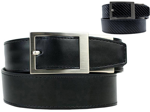 NexBelt PreciseFit™ Defender Micro Adjustment Ratcheting Leather Gun Belt