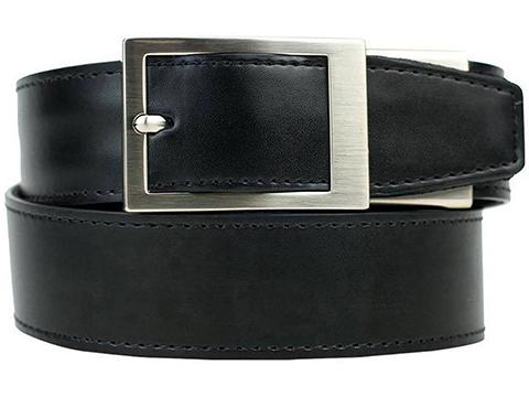 NexBelt PreciseFit™ Defender Micro Adjustment Ratcheting Leather Gun Belt
