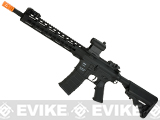 Classic Army Polymer  KM12 M4 Airsoft AEG Rifle with 12 KeyMod Handguard (Color: Black)