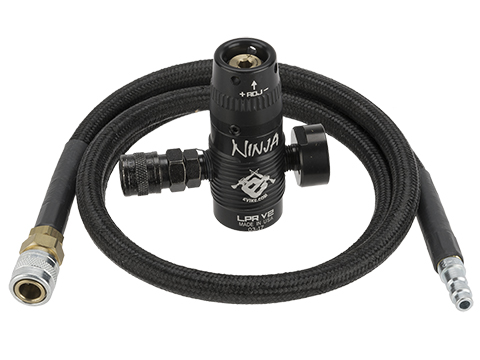 Ninja V2 LPR Air System Regulator and Big Bore Line  for PolarStar Fusion Engines / HPA Systems