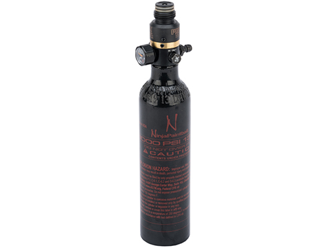 Ninja Paintball 13/3000 HPA System Air Tank w/ Ninja Pro V2 (Color: Black)