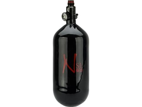 Ninja Paintball NSL2 90/4500 SL2 Superlite Pro HPA Tank (Color: Black)