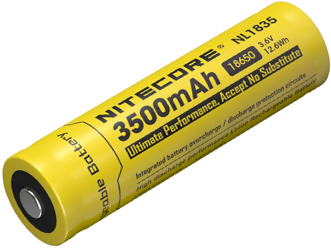 Nitecore NL1835 3500mAh High Capacity Li-ion Rechargeable 18650 Battery