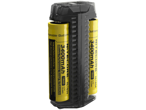 Nitecore F2 Flexible Dual Slot Power Bank / Portable Charger for Rechargeable Batteries
