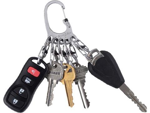 Nite Ize BigFoot Locker® KeyRack™ Stainless Steel S-Biner® Key Holder