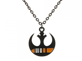 Star Wars Black Squadron Rebel Insignia Metal Chain Necklace
