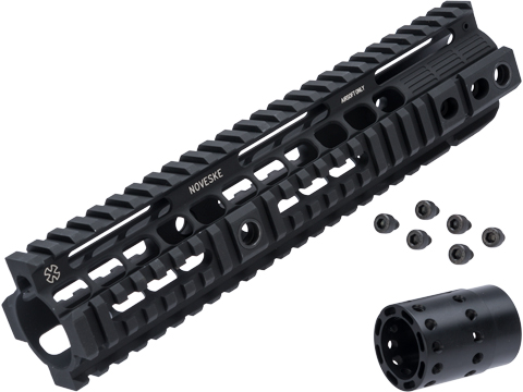 Madbull Noveske Rail Interface System for M4 / M16 Series Airsoft AEG Rifle (Color: Black / 10)