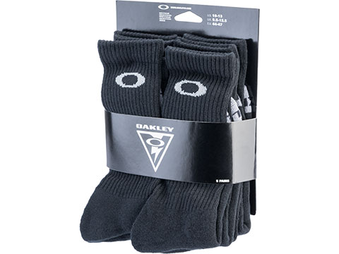 Oakley Performance Basic Crew Socks - Pack of 5