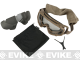 Oakley SI Ballistic UPLC Goggle with Two Lenses - Terrain Tan