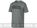 Oakley Tab T-shirt - Heather (Size: Large)