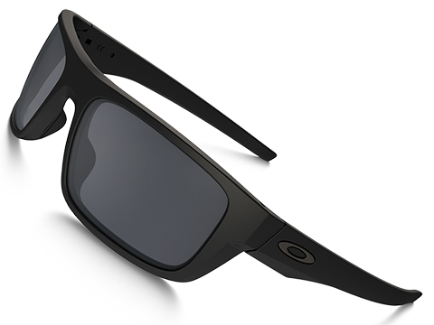 Oakley Drop Point Standard Fit Sunglasses - Matte Black w/ Gray Lenses