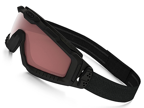 Oakley SI Ballistic ALPHA Halo Full Seal Goggle - Matte Black with TR45 Tinter Iridium Lens
