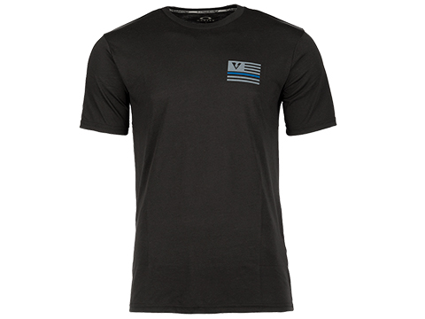 Oakley Thin Blue Line O-Hydrolix T-Shirt - Jet Black