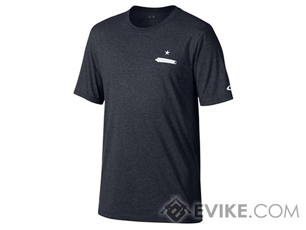 Oakley Gonzales Athletic Tee (Color: Blackout / Size: Large)