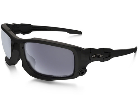 Oakley SI Ballistic Shocktube (Color: Matte Black / Grey Polarized)